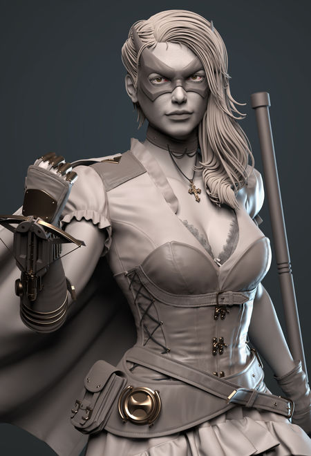 Manoj3110c steampunk huntress d 5514b98a d7ts