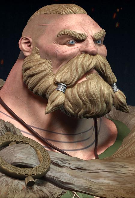 Silas batista ragarot the viking 6078094c xu1c