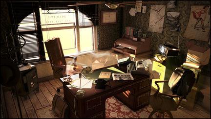 70's Detective Office