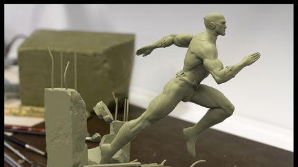 Flash statue sculpt