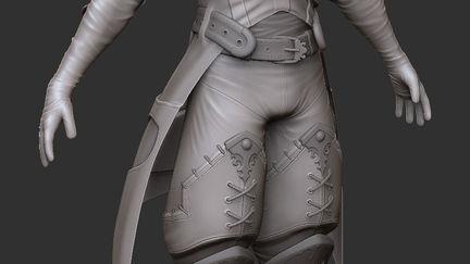 Fantasy Templar - Clay