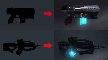 Shadow of Dusk Weapons