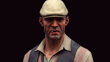 """""""Dishonored"""" male character"""