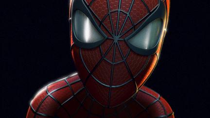 Spiderman portrait