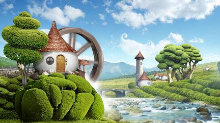 Fantastic village