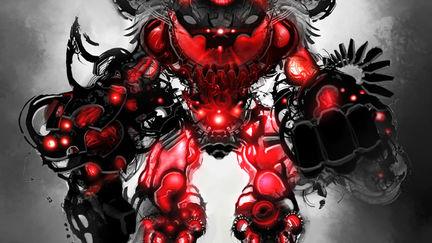 St. Valentines Hell Robot