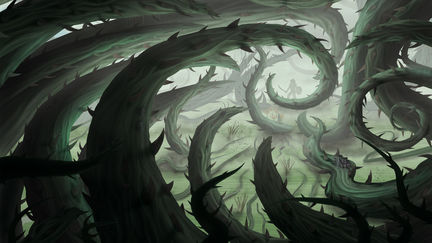 Thorny swamp