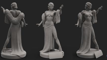 Vixen - DC Bombshells Statue