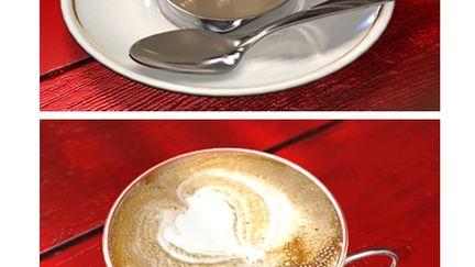 Cappuccine cup