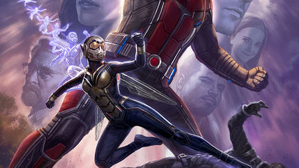 Ant-Man and the Wasp Comic-Con Poster