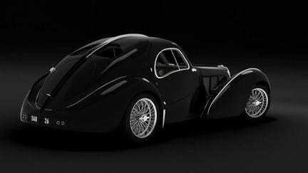 Bugatti Atlantic - Tail View
