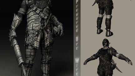 WIP - Prepared Orc - Wire