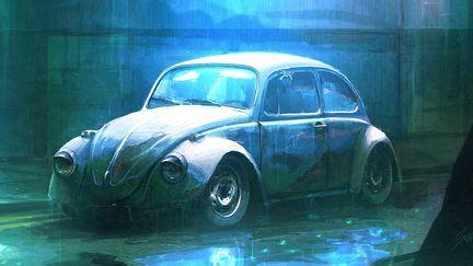 Speedpaint - Neglected Beetle