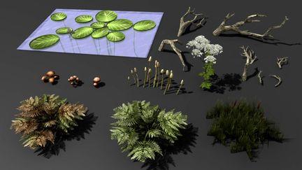 Some vegetation for Gothic 3
