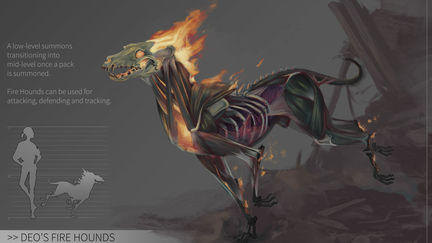 WD | Deo's Firehounds