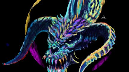 Candy Black Dragon