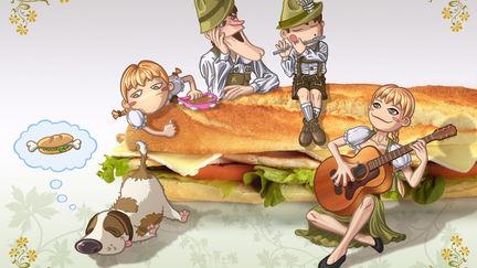 Krunch Family Illustrations