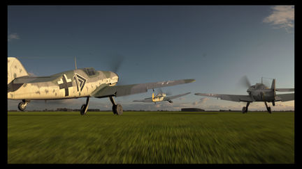 Early Sight - BF 109 G