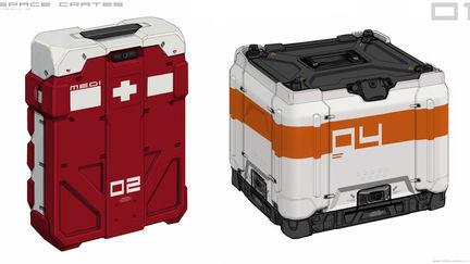 Space Crates!