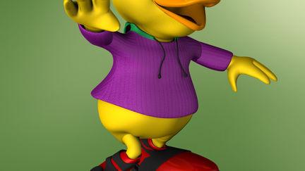 Child Duck