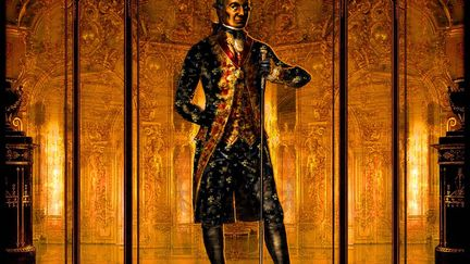 Amadeus: Salieri Costume Sketch
