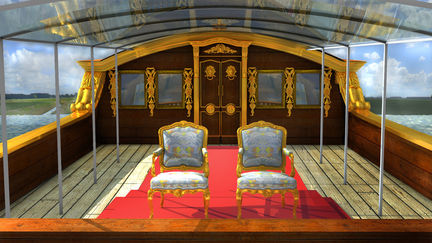 The Cabin Facade of the Queens State Barge