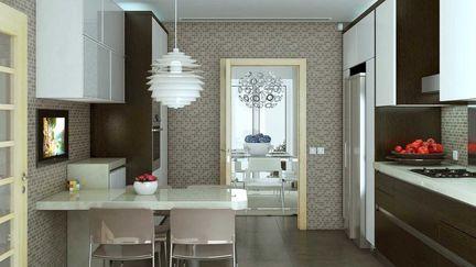 Interior Kitchen Perspective