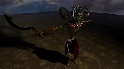 Ancient Egyptian Vampire Warrior