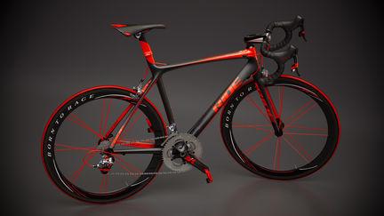 Bicycle studio rendering