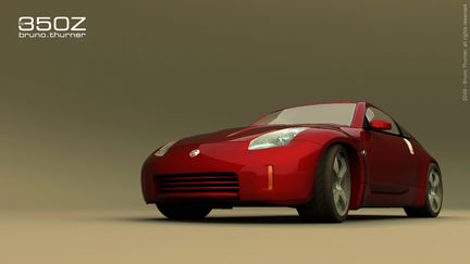 350z first car model