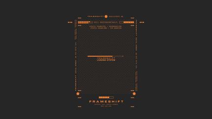Framecells UI Concept Design - FRAMESHIFT GAME CONCEPT ART
