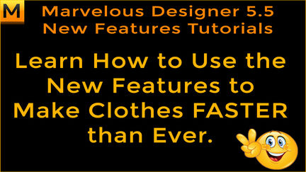 Free Marvelous Designer 5.5 Video Tutorials - How to Use the New Features