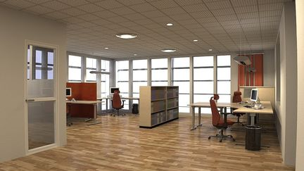 Energy company interior