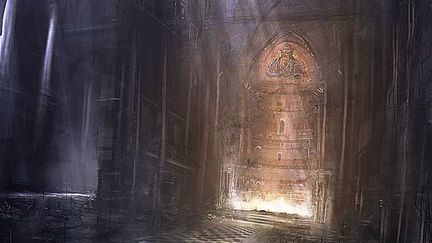 Cathedral Painting, Captflushgarden (2D)