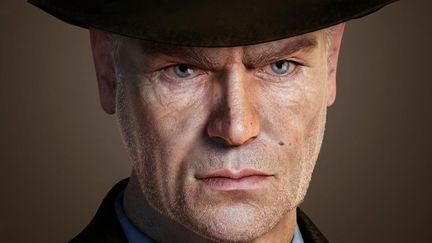 Old Detective Head