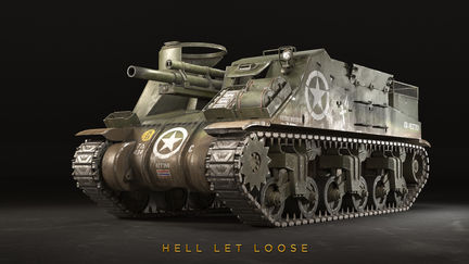 M7B1 (1943) Priest - Hell Let Loose
