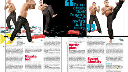 Georges St-Pierre spread2