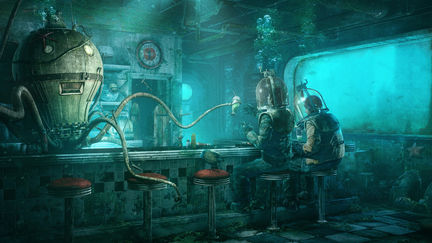 Personal Artwork: Octopus' Diner