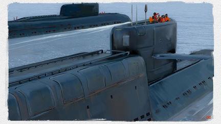 Submarine Illustrations