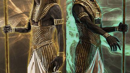 Egyptian Stautes