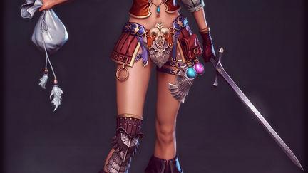 Holdeen's Elf Girl