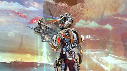 Project Europa Daystar Armor and Environment Concept