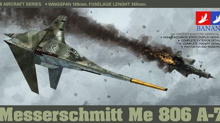 Me806 A-7 imaginary model kit box art