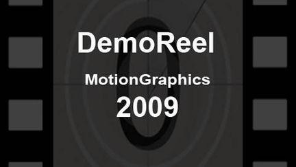 Motion Graphics Reel 2009