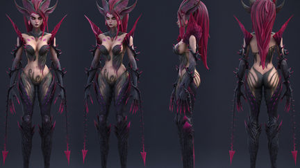 League of Legends Cinematic characters
