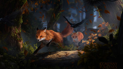 A Tale of Crows and Foxes