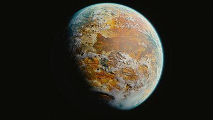 Desert planet Motavia