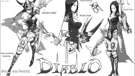 diablo sketchs
