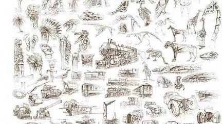 Visual Communcation Sketching Madness! (nudity)