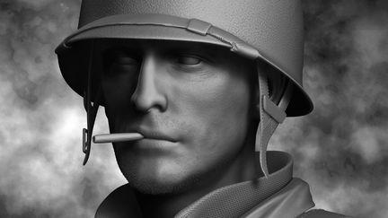 WW II Soldier